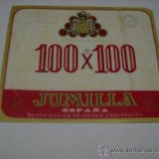 Coleccionismo de vinos y licores: ETIQUETA. 100 X 100. VINO FINO DE MESA. JUMILLA. TAMAÑO 10X12. Lote 18871783