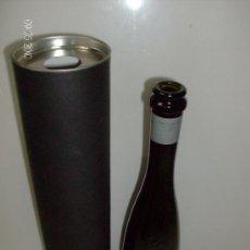 Coleccionismo de vinos y licores: BOTELLA CAVA FRISANT DE GRAMONA VACÍA CON PORTABOTELLAS BOTELLA SERIGRAFIADA 375ML. Lote 27524398