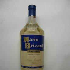 Coleccionismo de vinos y licores: ANTIGUA BOTELLA DE ANIS MARIE BRIZARD TAPÓN DE CORCHO DE 1 LITRO. Lote 26600264