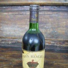 Coleccionismo de vinos y licores: VINO GRAN RESERVA CONDE DE LOS ANDES 1964 FEDERICO PATERNINA, OLLAURI RIOJA, PERFECTA. Lote 26903389