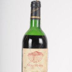 Coleccionismo de vinos y licores: BOTELLA DE VINO TINTO MONT-MARÇAL, COSECHA 1982. Lote 24608546