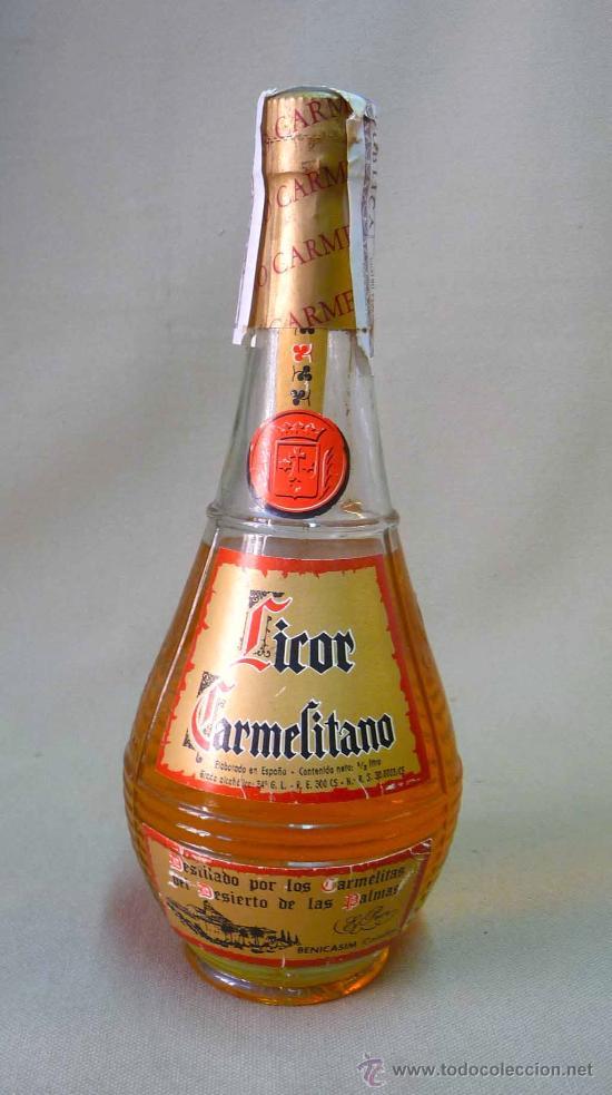 Resultado de imagen de licor carmelitano