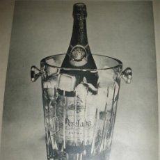 Coleccionismo de vinos y licores: CAVA PERELADA, CAVAS DEL AMPURDAN.. Lote 27680178