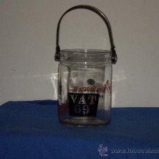 Coleccionismo de vinos y licores: VAT 69 , CUBO PARA EL HIELO. Lote 27726768