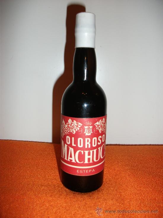 ANTIGUA BOTELLA DE OLOROSO MACHUCA ESTEPA PRECINTADA EN (Coleccionismo - Botellas y Bebidas - Vinos, Licores y Aguardientes)