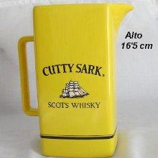 Coleccionismo de vinos y licores: WHISKY CUTTY SARK JARRA AMARILLA. Lote 30269452