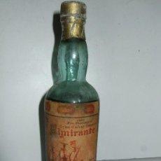 Coleccionismo de vinos y licores: BOTELLIN MINIATURA GRAN COÑAC ESPECIAL ALMIRANTE - MARQUES REAL TESORO - JEREZ - 15 CM. Lote 31008195