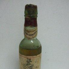 Coleccionismo de vinos y licores: BOTELLIN MINIATURA OLOROSO ESPAÑA - BODEGAS VIÑA T T - JEREZ - 13 CM. Lote 31041895