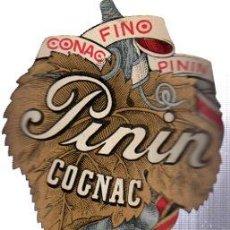 Coleccionismo de vinos y licores: ETIQUETA GRAN VINO FINO, COÑAC, PININ. Lote 32211302
