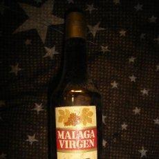 Coleccionismo de vinos y licores: BOTELLÍN MALAGA VÍRGEN, LÓPEZ HERMANOS, UVA DE MÁLAGA. Lote 32855681