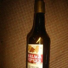 Coleccionismo de vinos y licores: BOTELLÍN MÁLAGA VIRGEN, LOPEZ HERMANOS. Lote 33282191