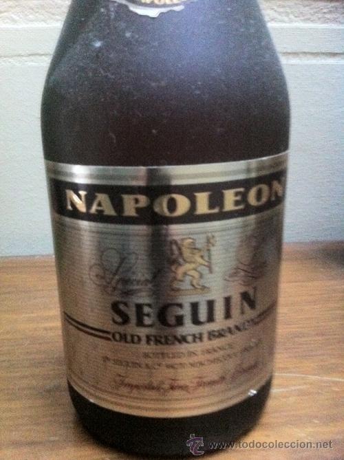 BRANDY NAPOLEON SEGUIN (Coleccionismo - Botellas y Bebidas - Vinos, Licores y Aguardientes)
