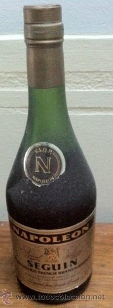 Coleccionismo de vinos y licores: BRANDY NAPOLEON SEGUIN - Foto 2 - 33706084
