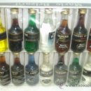 Coleccionismo de vinos y licores: CAJA CON 14 BOTELLINES MARIE BRIZARD.. Lote 34085820