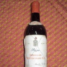 Coleccionismo de vinos y licores: RIOJA 1952. Lote 35372256
