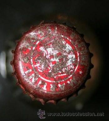 Coleccionismo de vinos y licores: BOTELLITA DE CRISTAL DE MARTINI ROSSO CON CHAPA - VACIA - Foto 2 - 35559654