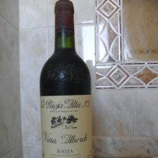 Coleccionismo de vinos y licores: BOTELLA DE VINO RIOJA VIÑA ALBERDI CRIANZA DEL 95 NUMERADA. Lote 35699179