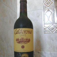 Coleccionismo de vinos y licores: VINO CALDERONA CRIANZA 96 CIGALES CRIANZA 1996. Lote 35699314