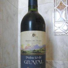 Coleccionismo de vinos y licores: RIBERA DEL DUERO CRIANZA 98 PALACIO DE GRAJAL. Lote 35699393