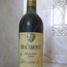 Coleccionismo de vinos y licores: VINO BRACAMONTE RESERVA RIBERA DEL DUERO 94. Lote 168707538