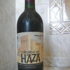 Coleccionismo de vinos y licores: CONDADO DE HAZA COSECHA DEL 97 RIBERA DEL DUERO. Lote 35699444