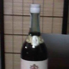 Coleccionismo de vinos y licores: BOTELLA PONCHE GRAN LICOR PEREZ TEXEIRA S.A. MALAGA BOTELLA PRECINTADA.. Lote 36745444
