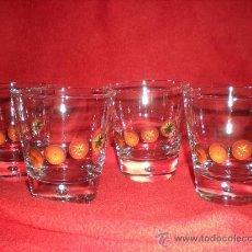 Coleccionismo de vinos y licores: 4 VASOS DE LA MARCA MINUTE MAID SELECCION. Lote 37219379