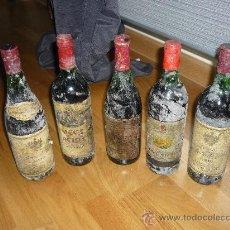 Coleccionismo de vinos y licores: LOTE 5 BOTELLAS VINO SEÑORIO DE UCLES(2) VEGA DE LA RUEDA RESERVA CONDESTABLE Y BULGARO. Lote 37229712