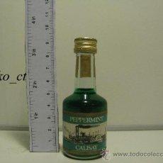 Coleccionismo de vinos y licores: BOTELLITA LICOR PEPPERMINT CALISAY. Lote 37782926