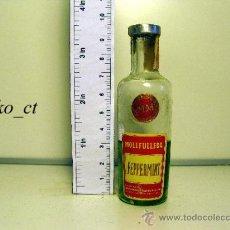 Coleccionismo de vinos y licores: BOTELLITA BOTELLIN PEPPERMINT MM DESTILERIAS MOLLFULLEDA. Lote 38013167