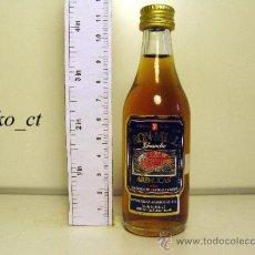 Coleccionismo de vinos y licores: BOTELLITA BOTELLIN RON MIEL AREHUCAS DESTILERIAS AREHUCAS CANARIAS. Lote 38013250