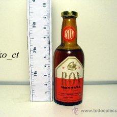 Coleccionismo de vinos y licores: BOTELLITA BOTELLIN RON MONTAÑA DESTILERIAS MONTAÑA. Lote 38400732
