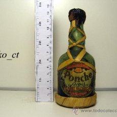 Coleccionismo de vinos y licores: BOTELLITA BOTELLIN PONCHE SERPIS BODEGAS GISBERT OLCINA Y CIA ALCOY. Lote 38435455