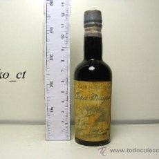 Coleccionismo de vinos y licores: BOTELLITA BOTELLIN AMONTILLADO CAZA MAYOR BODEGAS GARVEY JEREZ. Lote 38475911