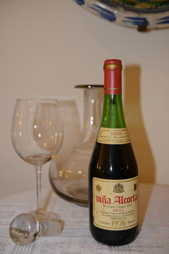 Rioja vi a alcorta reserva 1976 bodegas campo v comprar coleccionismo de vinos licores y - Bodegas alcorta ...