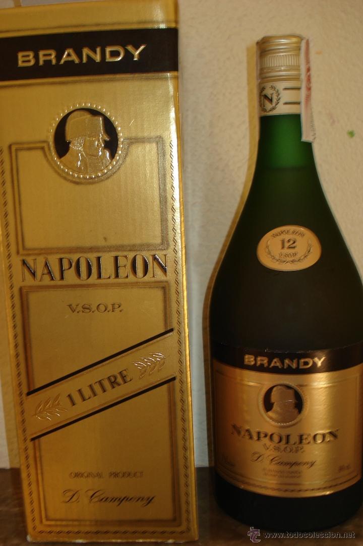 BRANDY NAPOLEÓN (Coleccionismo - Botellas y Bebidas - Vinos, Licores y Aguardientes)