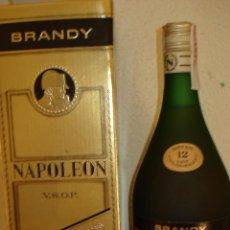 Coleccionismo de vinos y licores: BRANDY NAPOLEÓN. Lote 39965834