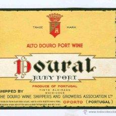 Coleccionismo de vinos y licores: ETIQUETA VINO OPORTO. Lote 40359214