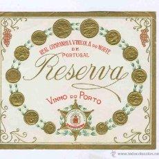 Coleccionismo de vinos y licores: ETIQUETA VINO OPORTO. Lote 40359540
