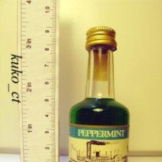 Coleccionismo de vinos y licores: BOTELLITA BOTELLIN LICOR CALISAY PEPPERMINT DESTILERIAS MOLLFULLEDA. Lote 40744893