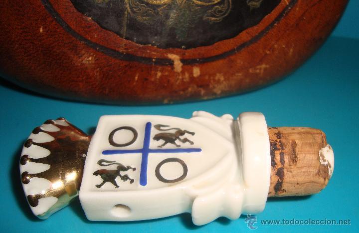 Coleccionismo de vinos y licores: BOTELLA MAGNO DE OSBORNE FORRADA EN CUERO - Foto 6 - 41058084