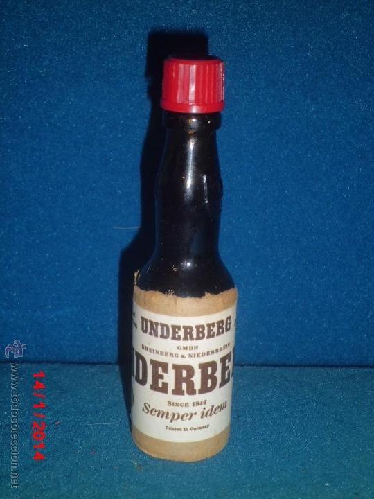 LICOR UNDERBERG ALEMANIA (Coleccionismo - Botellas y Bebidas - Vinos, Licores y Aguardientes)