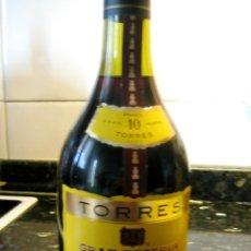 Coleccionismo de vinos y licores: BRANDY TORRES 10- GRAND ROUGE- GRAN RESERVA IMPERIAL SIN ABRIR, CON PRECINTO. Lote 42374736