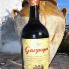 Coleccionismo de vinos y licores: BOTELLA DE 5 LITROS DE VINO, GURPEGUI DE 1.994. Lote 42618013