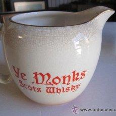 Coleccionismo de vinos y licores: JARRA DE CERAMICA YE MONKS. Lote 42644513