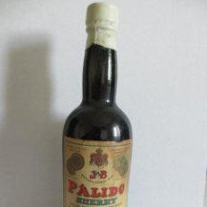 Coleccionismo de vinos y licores: BOTELLIN J & B PÁLIDO SHERRY. JOHN WILLIAM BURDON. PUERTO DE SANTA MARIA - ESPAÑA.. Lote 43119314