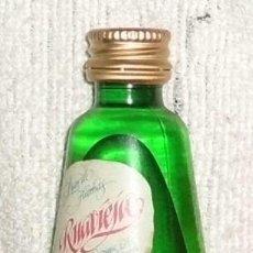Coleccionismo de vinos y licores: BOTELLIN RUAVIEJA. LICOR DE HIERVAS. GALICIA RF-3202. Lote 43327519