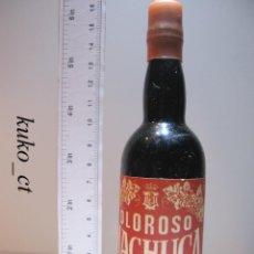Coleccionismo de vinos y licores: BOTELLITA BOTELLIN OLOROSO MACHUCA BODEGAS ESTEPA. Lote 43341628
