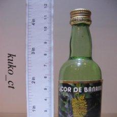 Coleccionismo de vinos y licores: BOTELLITA BOTELLIN LICOR DE BANANA J. FARIA & FILHOS LDA PORTUGAL. Lote 43801407