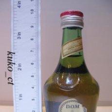 Coleccionismo de vinos y licores: BOTELLITA BOTELLIN LICOR BENEDICTINE DOM FRANCIA. Lote 43825408